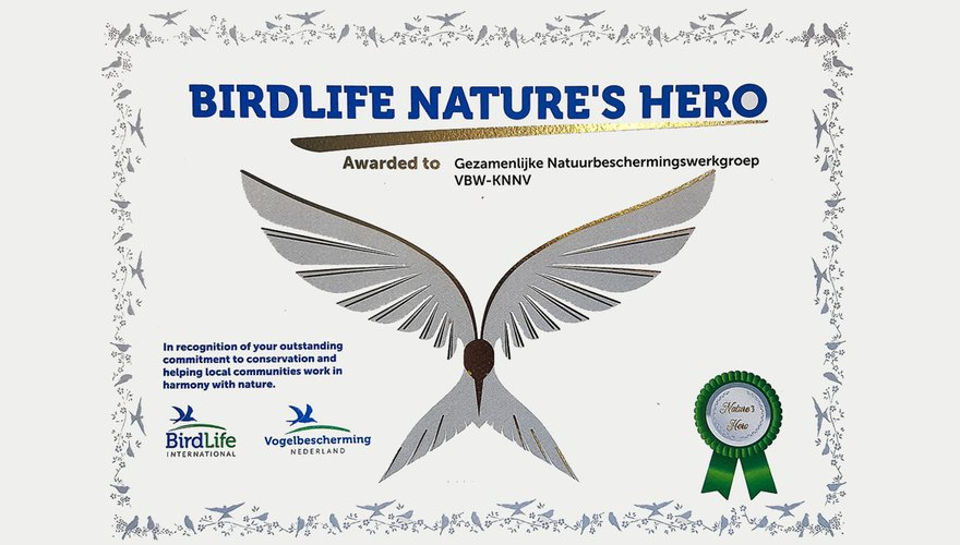 Internationale Birdlife Nature's Award